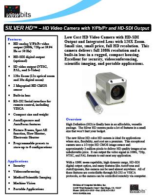 Silver HD Camera
